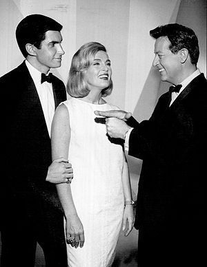Mike Stokey - George Hamilton, Lizabeth Scott and Mike Stokey on Stump the Stars (1963)