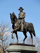 George Washington statue in the Boston Public Garden - DSC08199.JPG
