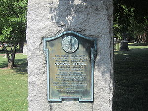 St. John's Episcopal Church (Richmond, Virginia) - Grave of George Wythe