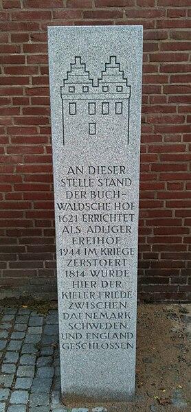 Datei:Germany-Kiel-Buchwaldscher-Hof-Saule.JPG
