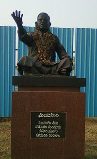 Ghantasala Statue at RK Beach Road 01.jpg