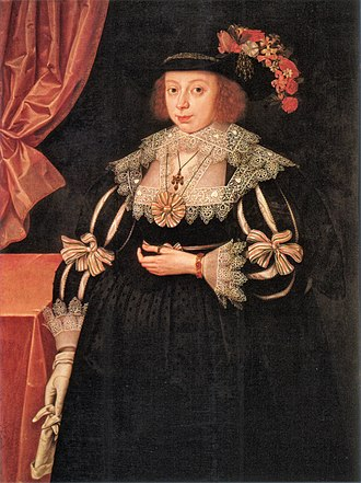 1629 in art - Image: Gheeraerts Anne Hale Mrs Hoskins