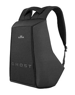 Backpack bag carried on ones back