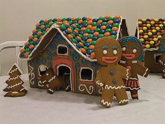 Gingerbread man - Gingerbread man and his wife