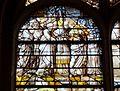 Gisors (27), collégiale St-Gervais-et-St-Protais, 2e collatéral sud du chœur, verrière n° 10 - vie de la Vierge 3.jpg