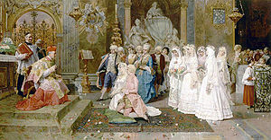 Ceremony of Marriage (Giulio Rosati) Giulio Rosati 11.jpg