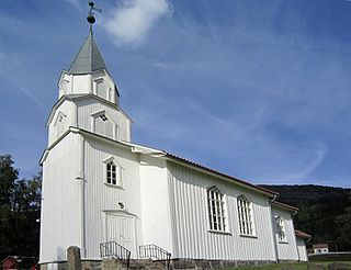 Gjøvdal Church Church in Aust-Agder, Norway