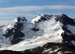 Store Styggedalstinden mountain