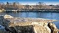 Glaces qui fond sur la rivière 8 mars 2010 - panoramio.jpg