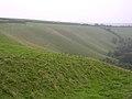Glaciated chalk landscape, Eggardon Hill - geograph.org.uk - 66977.jpg