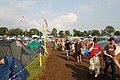 Glastonbury Festival - camping east of the Pyramid Stage area - geograph.org.uk - 1388959.jpg