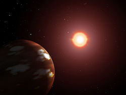 Artist's conception of Gliese 436 b