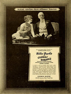 <i>Glorias Romance</i> 1916 film by Colin Campbell