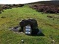 Glyn gath ring cairn, sign - geograph.org.uk - 1464778.jpg