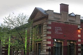 Glynn Vivian Art Gallery, Swansea, close-up.jpg