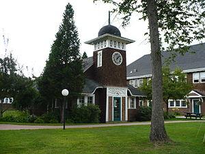 Goddard College - Goddard College Clockhouse
