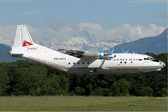 Antonov An-12 - An-12 of Gomelavia in 2009