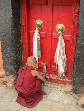 Phyang Monastery - Image: Gompa Phyang 3