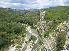 Image illustrative de l'article Gorges de la Beaume