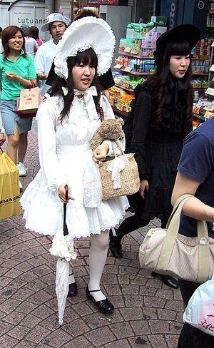 Lolita fashion - Image: Gothic lolita takeshita street