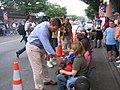 Gov. Warner at the Local 675 Covington Labor Day Parade (235245632).jpg