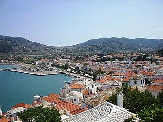 Skopelos - Skopelos (town).