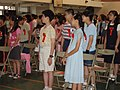 Graduation ceremony in a elementary school 01.jpg