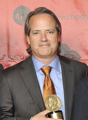 Graham Yost - Graham Yost with his Peabody Award