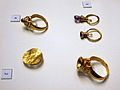 Grave goods from the Avar cemetery of Gyenesdiás, Hungary - rings.jpg