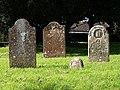 Gravestones, Norton Fitzwarren - geograph.org.uk - 1002150.jpg