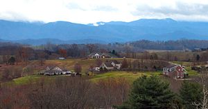 Appalachian Mountains - Bald Mountains