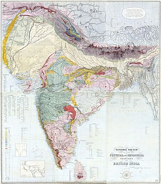 George Bellas Greenough - Image: Greenough Geology India 1855 (large)