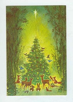 tarjeta navidea