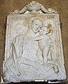 Gregorio di lorenzo, madonna col bambino, 1470 ca.stucco con dorature.JPG
