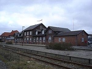 Grenaa - Grenaa station.