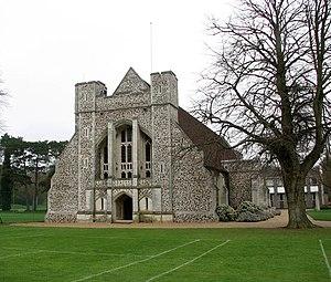 Maxwell Ayrton - Chapel of Gresham's School, Norfolk