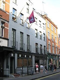 Dean Street street in Soho