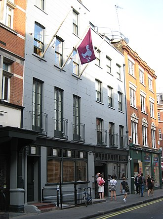 Dean Street - Dean St is known as a centre of the arts and media, typified by the Groucho Club