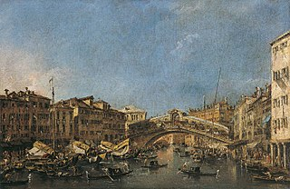 The Rialto-Bridge in Venice