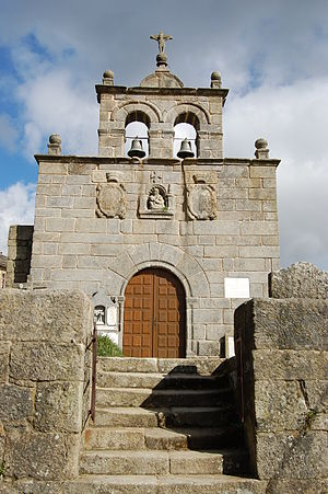 Sebastian de Aparicio - Parish church of Gudiña, where the Blessed Sebastian was baptized as a newborn