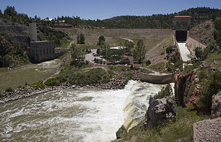 dam in  Platte County, Wyoming, United States