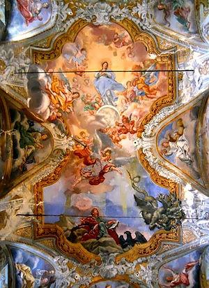 Guglielmo Borremans - The Assumption of Mary