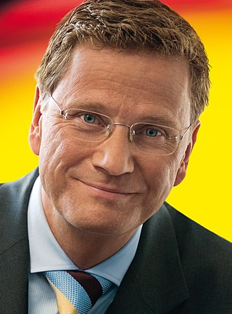 2002 German federal election - Image: Guido Westerwelle 2007 (cropped)