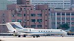 Gulfstream V N328MM Taxiing at Taipei Songshan Airport 20150913b.jpg