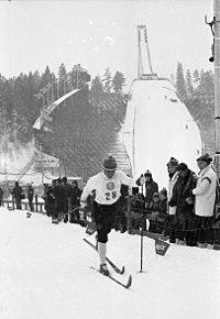 Gullvinner Georg Thoma, 15 km langrenn kombinert, VM på ski i Oslo 1966 (5485115935).jpg