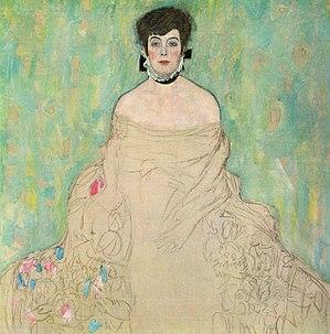 Otto Zuckerkandl - Gustav Klimt - Portrait of Amalie Zuckerlandl