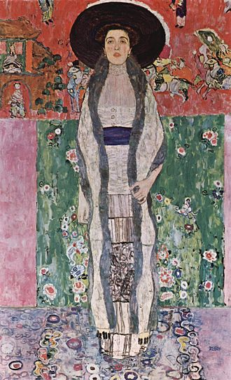 Portrait of Adele Bloch-Bauer I - Portrait of Adele Bloch-Bauer II, the 1912 painting by Klimt