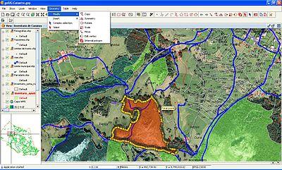 Геоинформационные системы в интернете доклад 1203
