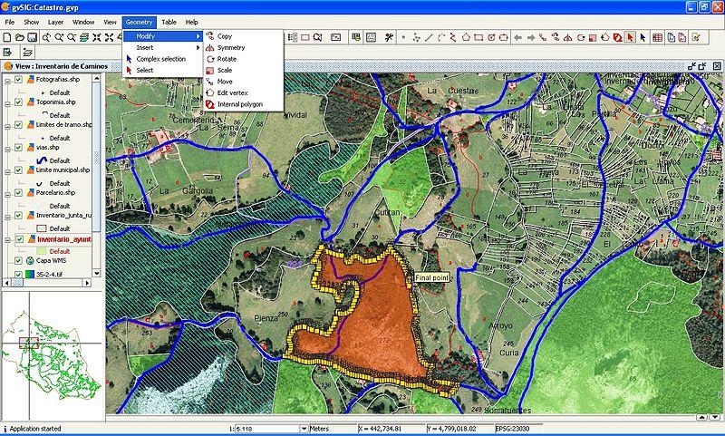 esempio GIS