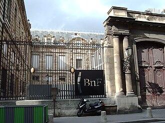 Hôtel Tubeuf - Hôtel Tubeuf facade on Rue des Petits-Champs